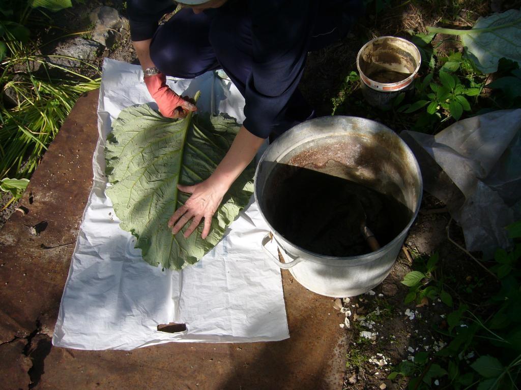 Берем нашу бетонную смесь