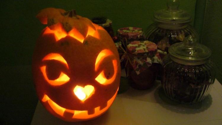 Тыква на Хэллоуин. Вариант №2