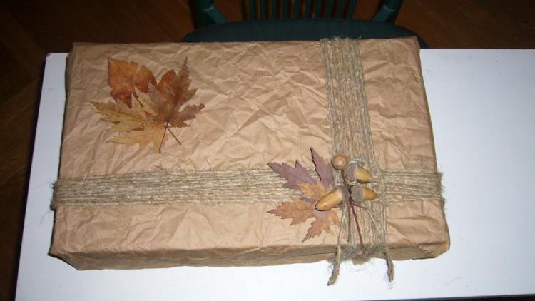 Оригинальная упаковка подарка своими руками