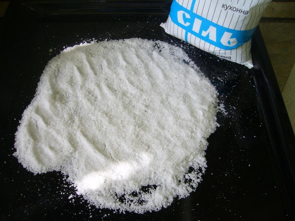 Соль, чтобы не пригорал жир