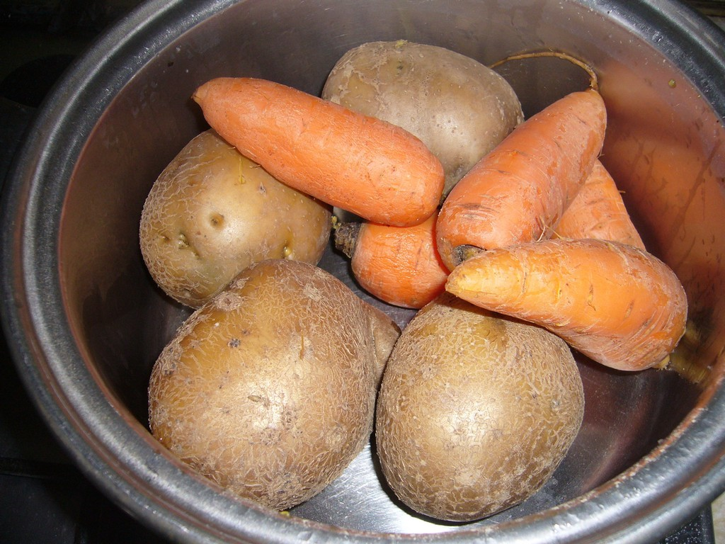 Овощи готовы