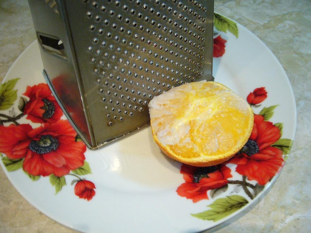 Замороженный апельсин