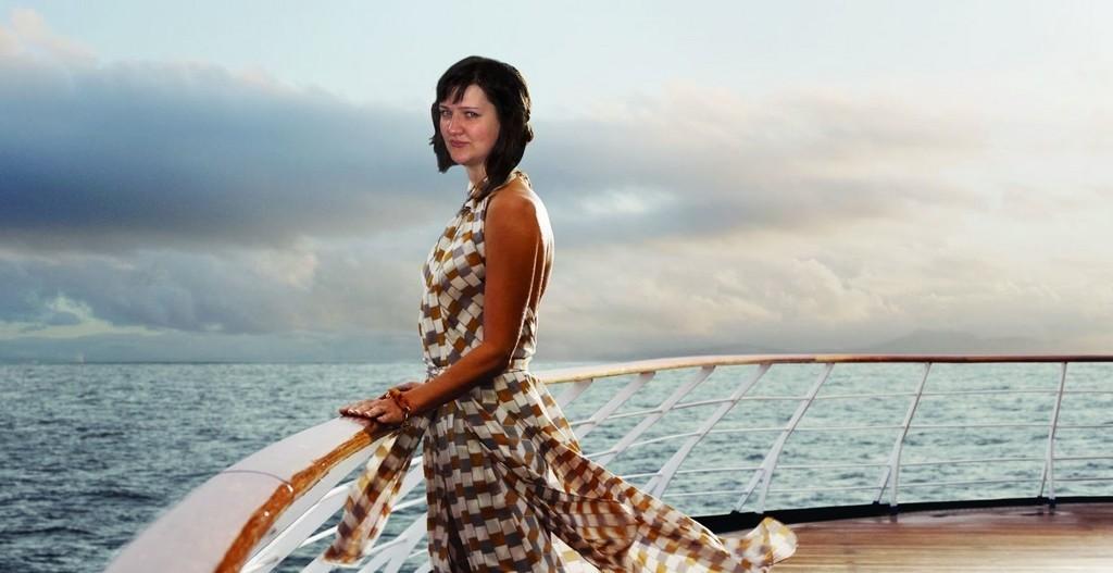 Желаю большого морского путешествия на круизном лайнере