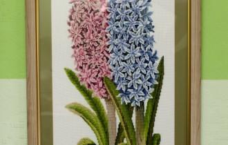 Вышивка крестиком «Цветы из средиземноморья»
