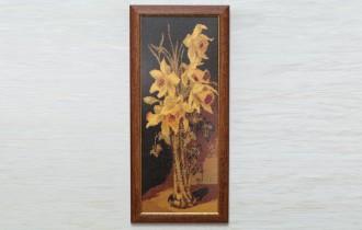 Вышивка крестиком Жёлтые Нарциссы
