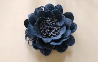 Джинсовый цветок: Вариант №1